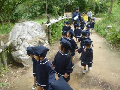 3歳児 秋遠足(カリーノ・松原カリーノ保育園)
