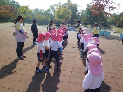 4歳児 秋遠足(カリーノ・松原カリーノ保育園)