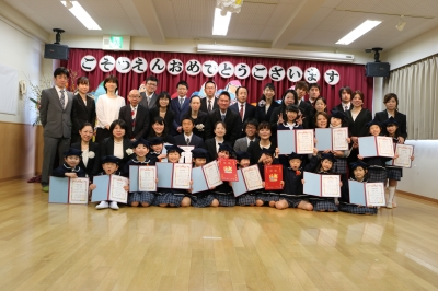 第9回 卒園式・茶話会(カリーノ保育園)