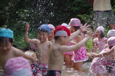 5歳児 お泊り保育(カリーノ・松原カリーノ保育園)