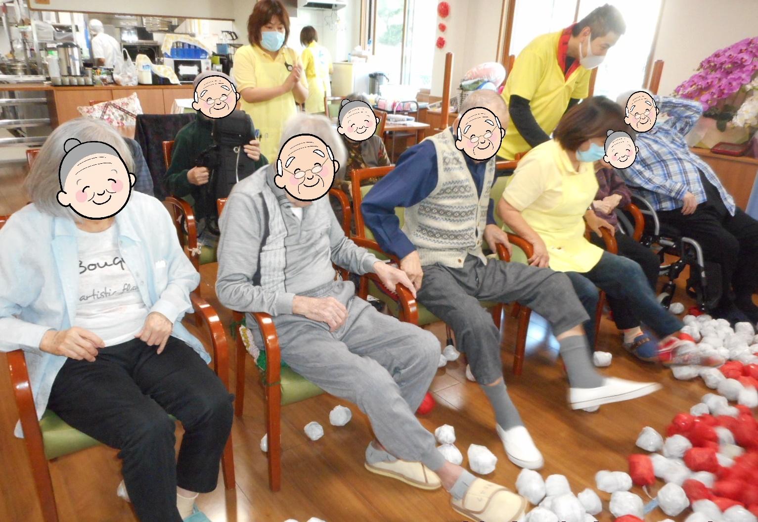 運動会(介護付有料老人ホームゆたか)
