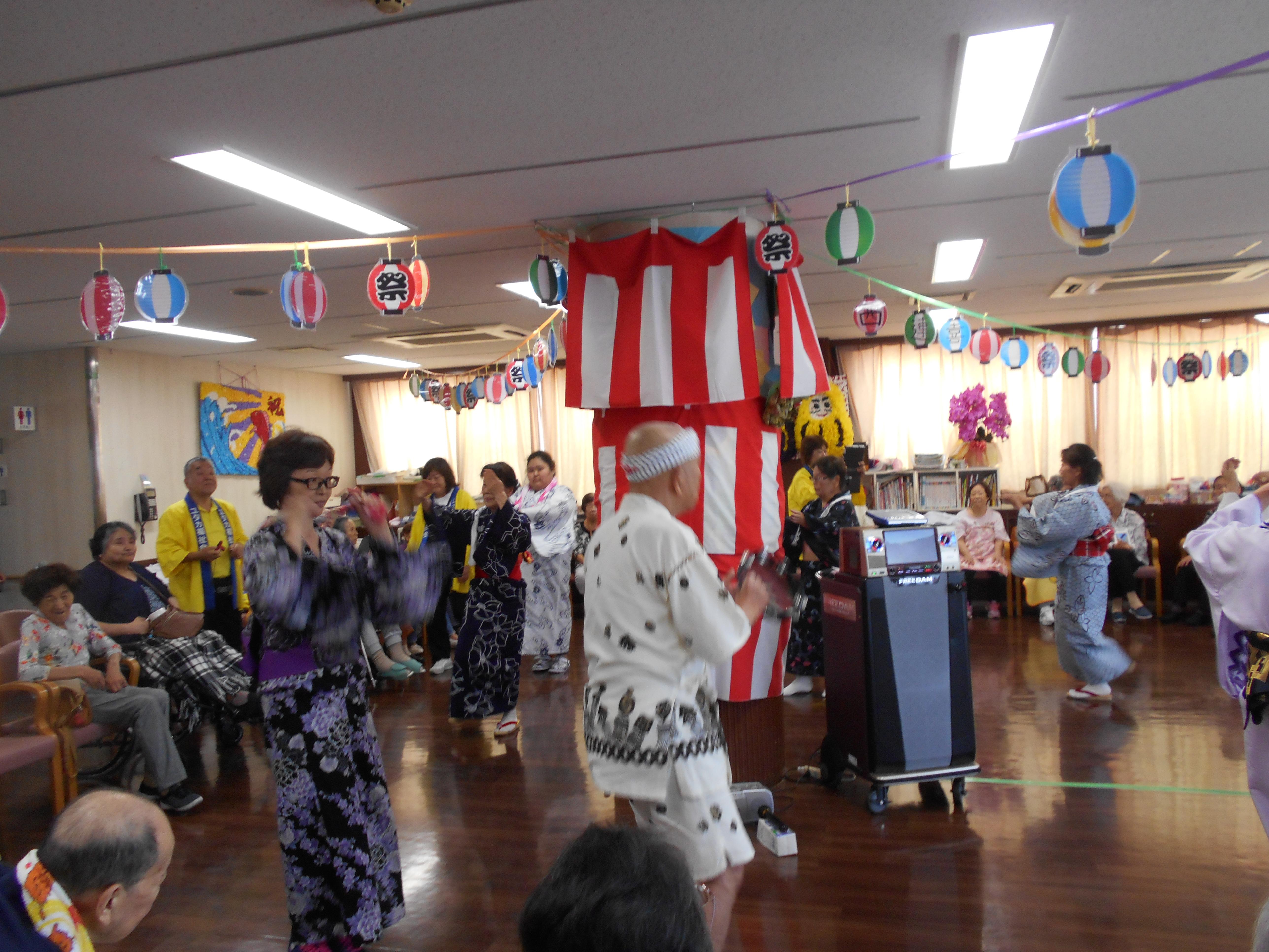 🎆盆踊り大会🎇~喜連西デイサービス~