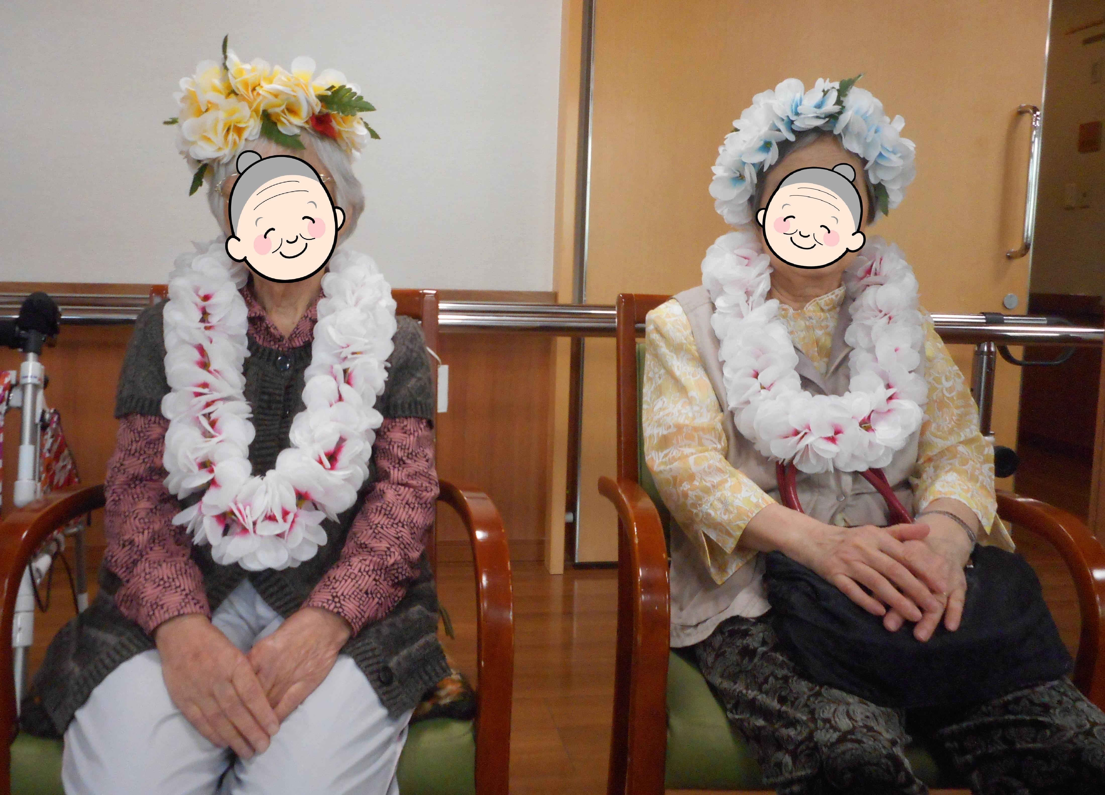 8月の誕生会を開催しました(介護付有料老人ホームゆたか)