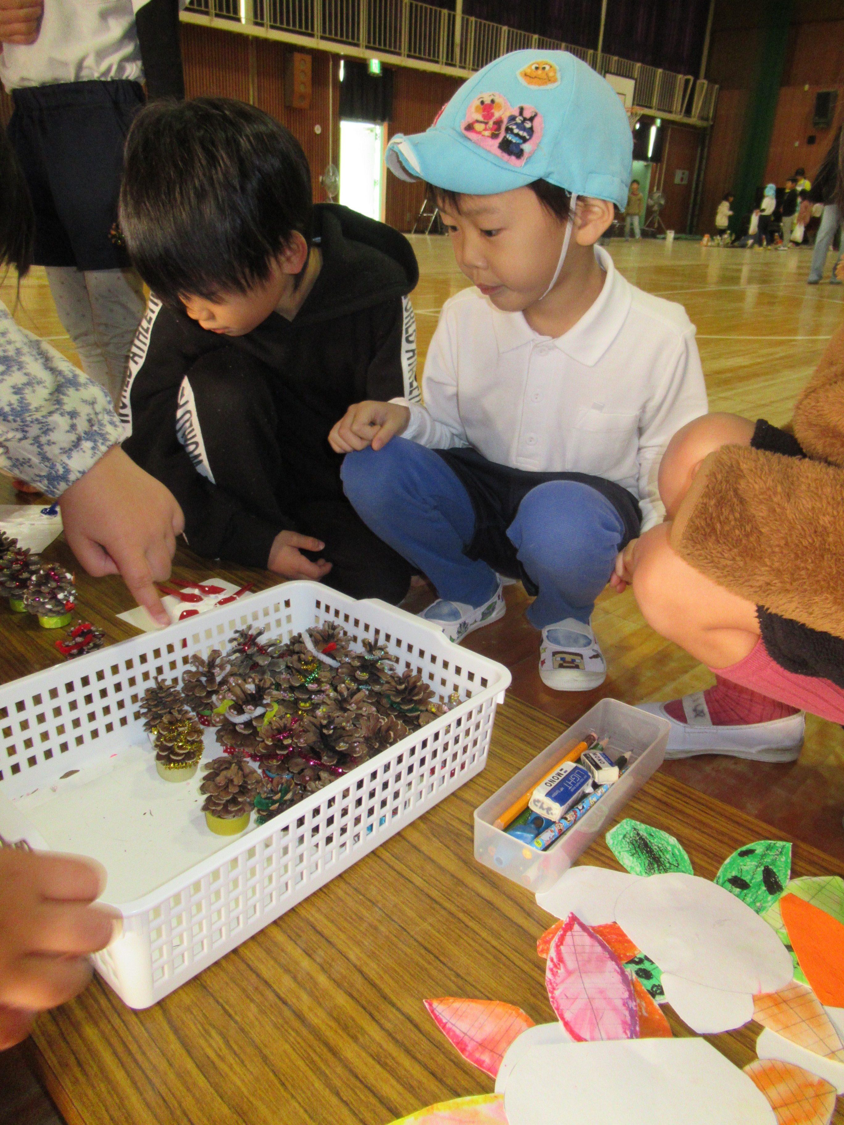 秋祭り交流会 (松原カリーノ保育園)