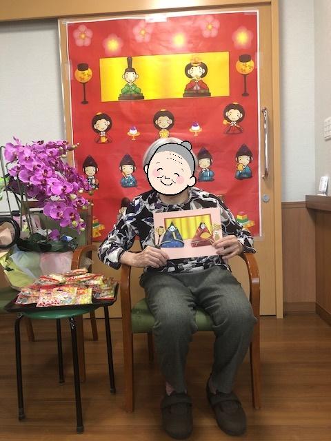 雛祭り(介護付有料老人ホームゆたか)
