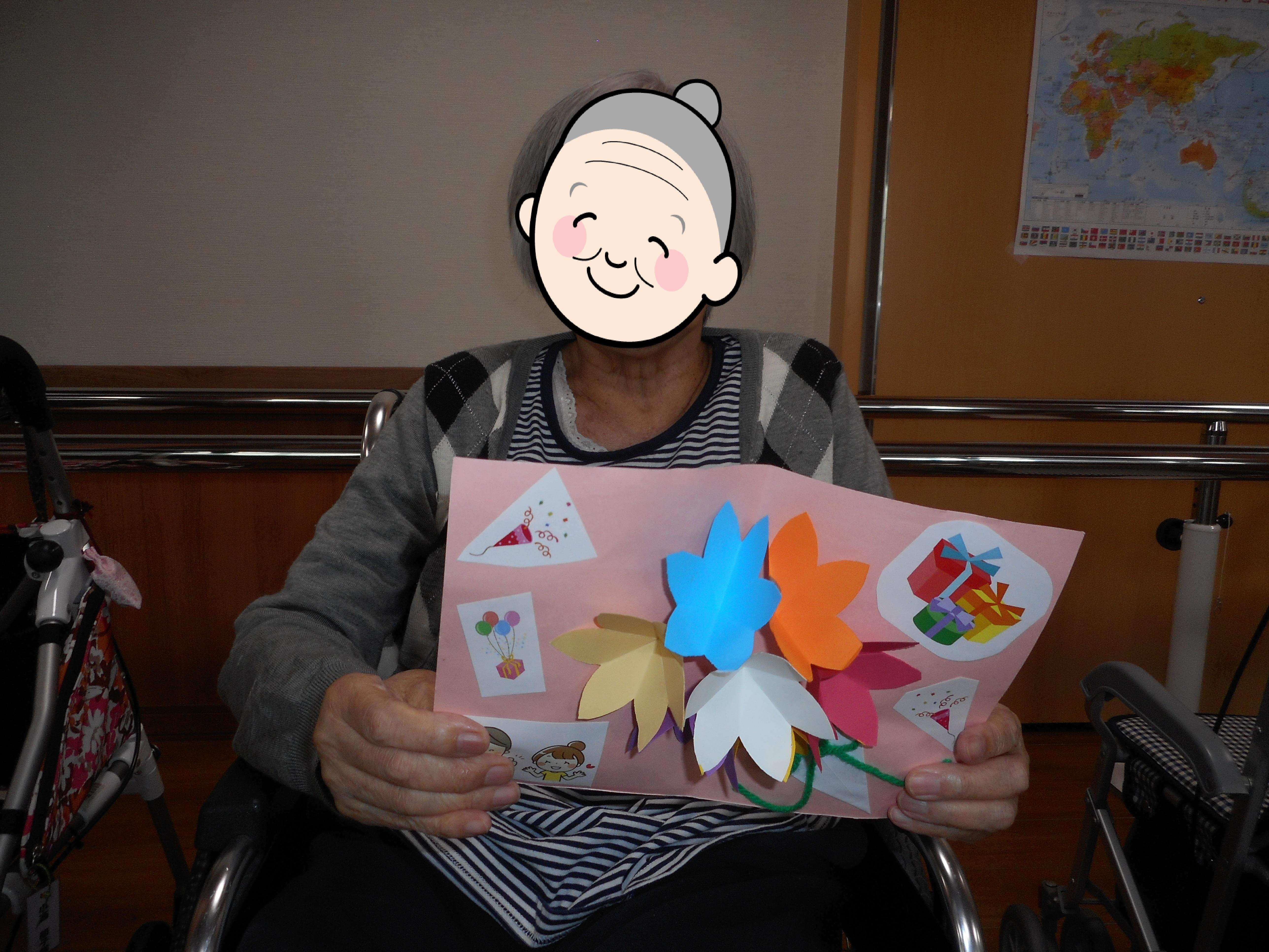 7月誕生日会開催(有料老人ホームゆたか)