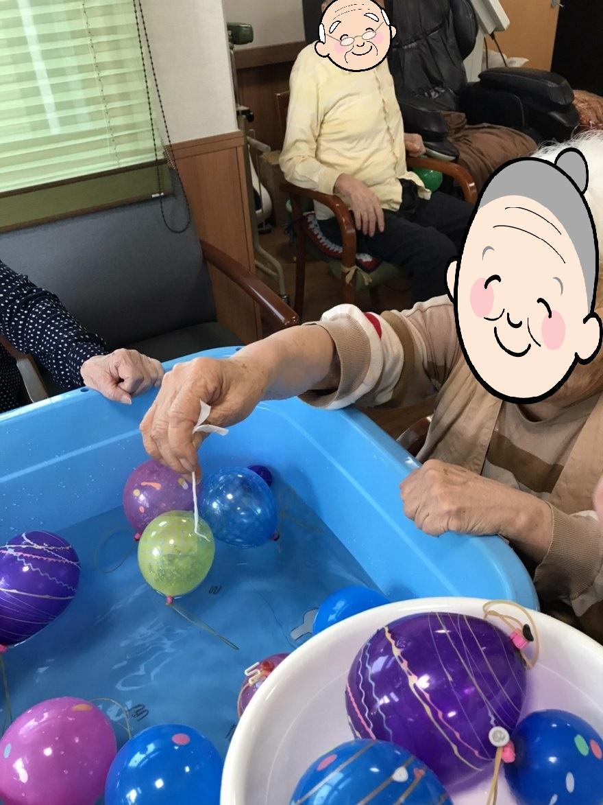 夏祭り開催(介護付有料老人ホームゆたか)