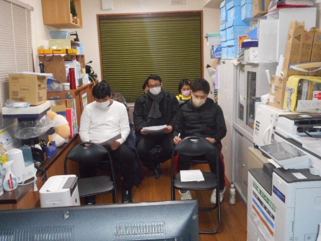 感染防止の基本 職員研修(介護付有料老人ホームゆたか)