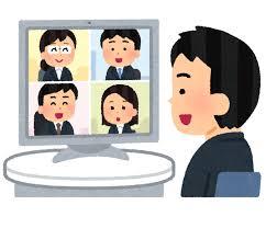 オンライン会議(喜連地域包括支援センター)