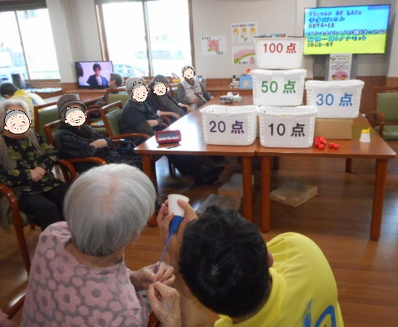 第12回 ゆたリンピック開催 (介護付有料老人ホームゆたか)