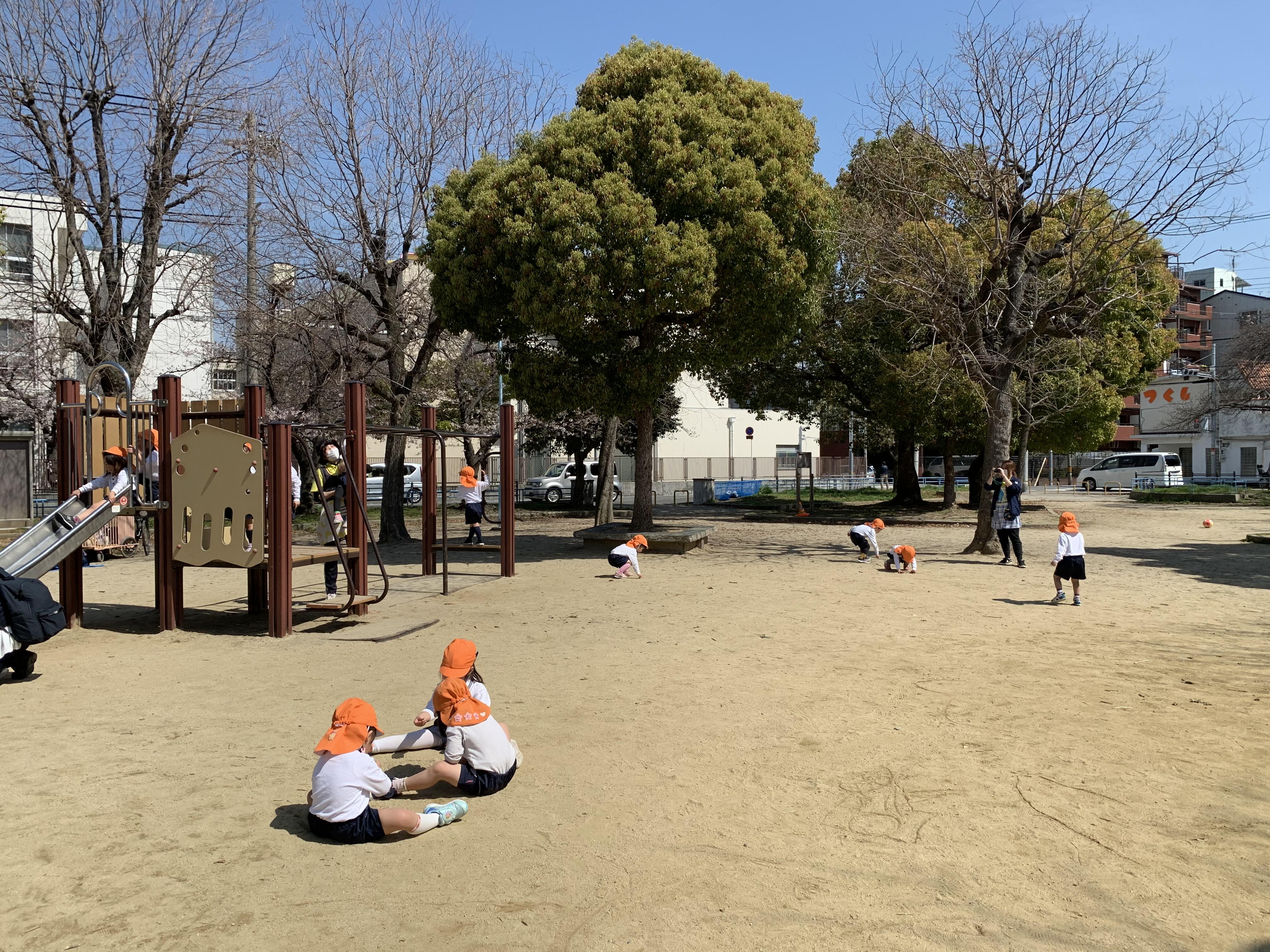 2歳児お別れ遠足🌸(カリーノ保育園)