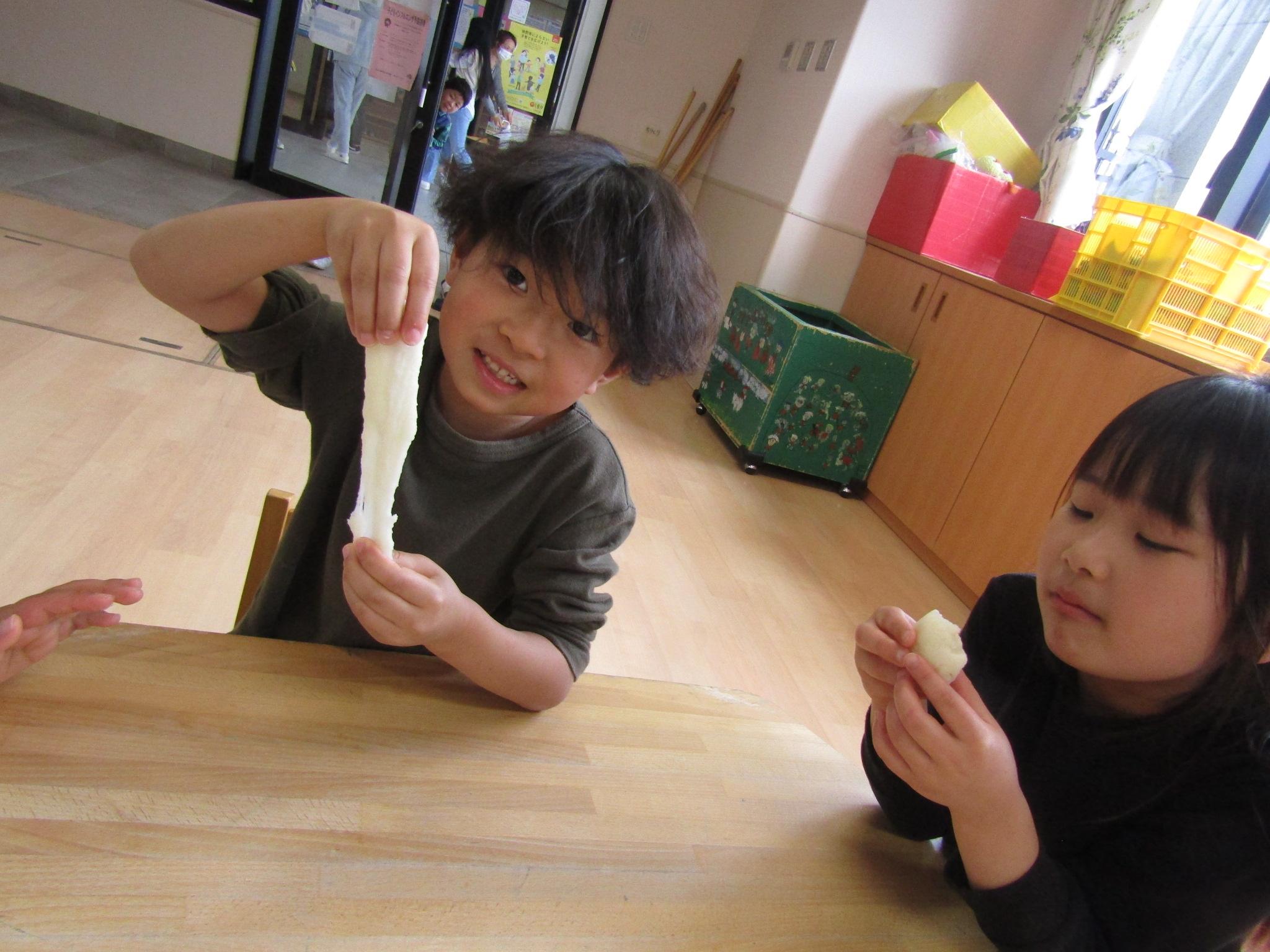 お泊り保育②(松原カリーノ保育園)